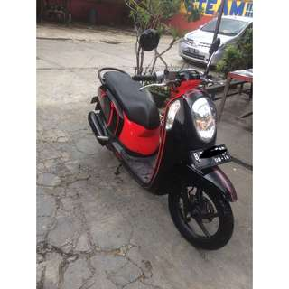 Honda Scoopy Th 2013