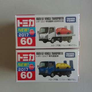 🚚 Tomica No.60 車輛般運車(初回+一般)