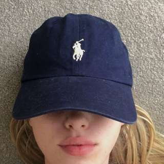Ralph Lauren Adjustable Navy Cap