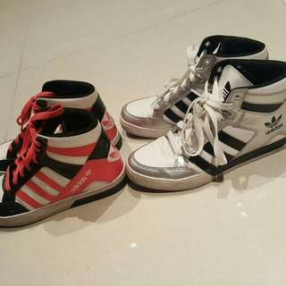 Adidas Hardcourt Sneakers Negotiable