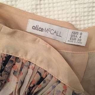 Alice McCall Cat Pletted Skirt