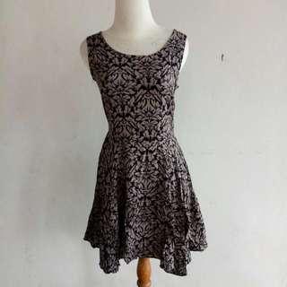 Dress Batik Hitam