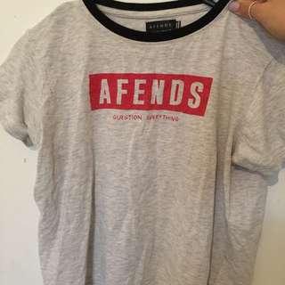 AFENDS TSHIRT