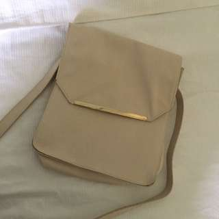 Sportsgirl Sling Bag In Beige