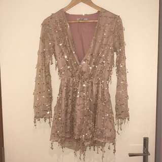 Sequin Playsuit size 6-8