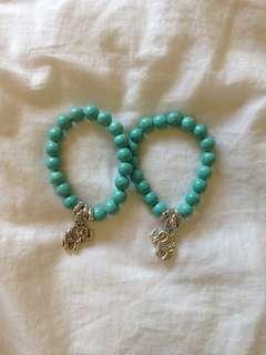 Elephant Stone Bracelet Set