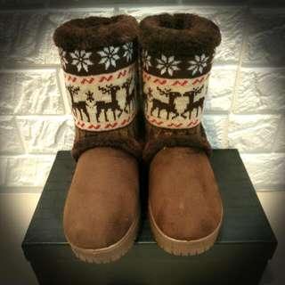 🚚 麋鹿雪靴