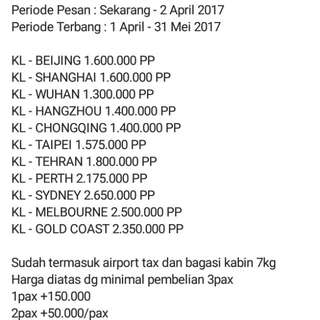 Airasia X Big Sale
