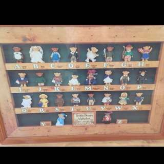 Educational Wall Picture In Wooden Frame
