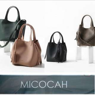 MICOCAH Tassle 2in1 pouch