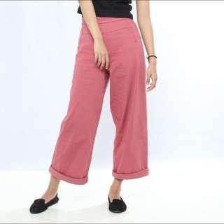 Triset Long Jeans Pink