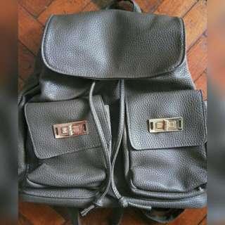 Gray Parisian Backpack