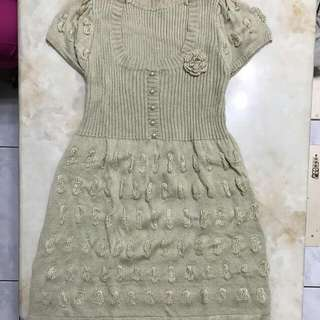 🚚 針織娃娃裙
