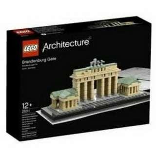 LEGO 樂高   21011 布蘭登堡門
