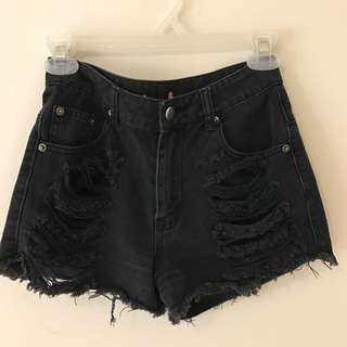 SUPRE High Waisted Shorts (size 6)