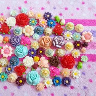 Roses And Flowers Brooch / Hijab Pin