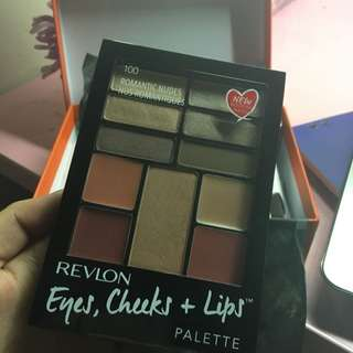 Revlon eyes, cheek and lips palette