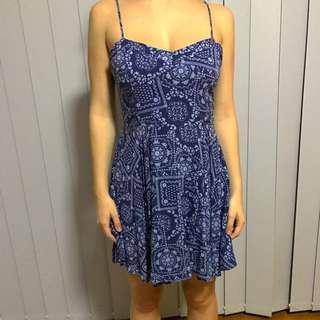 Blue Factorie Flowy Dress