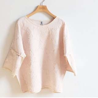 Korean Textured Blouse