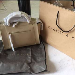 Authetic Charles & Keith Bag
