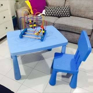 MAMMUT IKEA TABLE & CHAIR