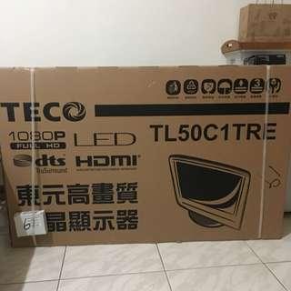 全新未拆封50吋液晶電視