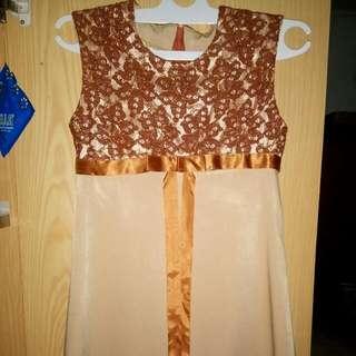 Mini Dress Mix Brokat