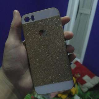 Gold Softcase Iphone 5/s
