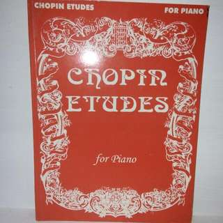 Chopin Etudes for piano