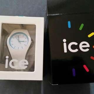 Unisex Crazy Blue Ice Watch