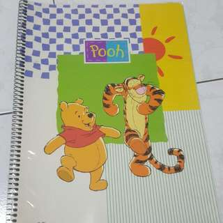 Disney Pooh and Tigger A4 Size Note book