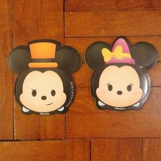 香港廸士尼 HKDL Disneyland 萬聖節 Tsumtsum 貼紙 Sticker Mickey Minnie
