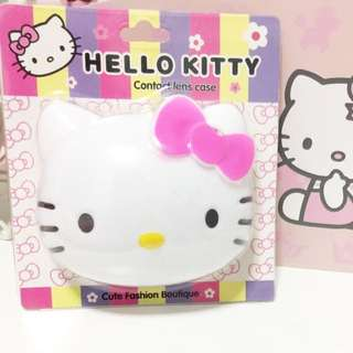 Hello Kitty Contact Lens Case And Kit