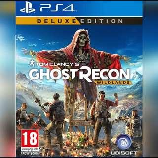 PS4 Ghost Recon Wildlands (Deluxe Edition)
