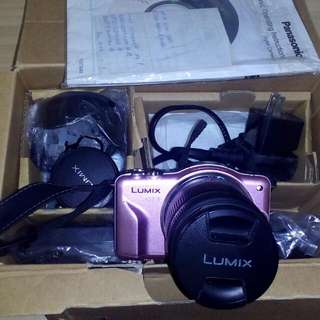 Pink Lumix Camera (Pre Loved)