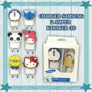 CHARGER SAMSUNG 2 AMPER KARAKTER 3D
