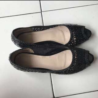 Flat Shoes Brand Chocolate Size 37