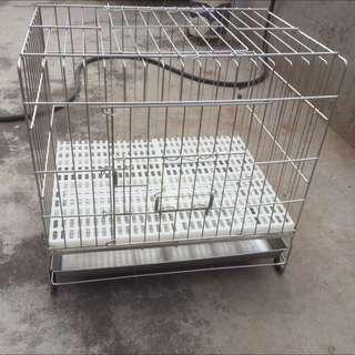 寵物白鐵狗籠