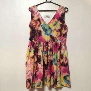 Betty Watercolor Dress