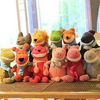 韓國大牙娃娃 絨毛玩偶 預購