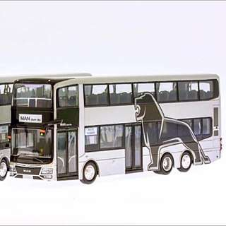 1:76 ST KINETICS MAN A95 Facelift (Silver and yellow Poles)