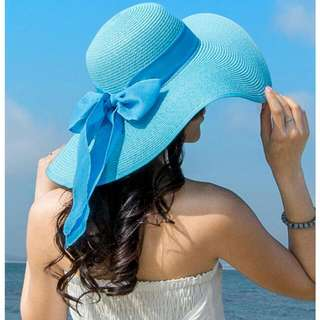 Floppy Bowknot Beach Summer Hat