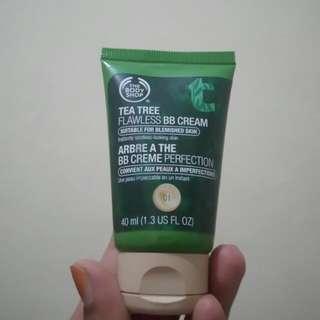 SALE Tea Tree Flawless BB Cream By Body Shop