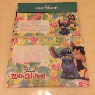 [stitch史迪奇]信封信紙,日本製!