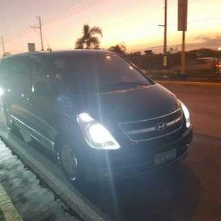 Van For Rent Grand Starex Van TV 12seater Inc. Driver