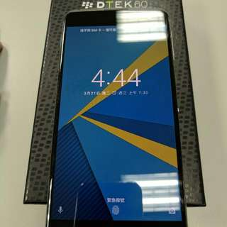 Blackberry DTEK60 32GB Earth silver BBA 100-2
