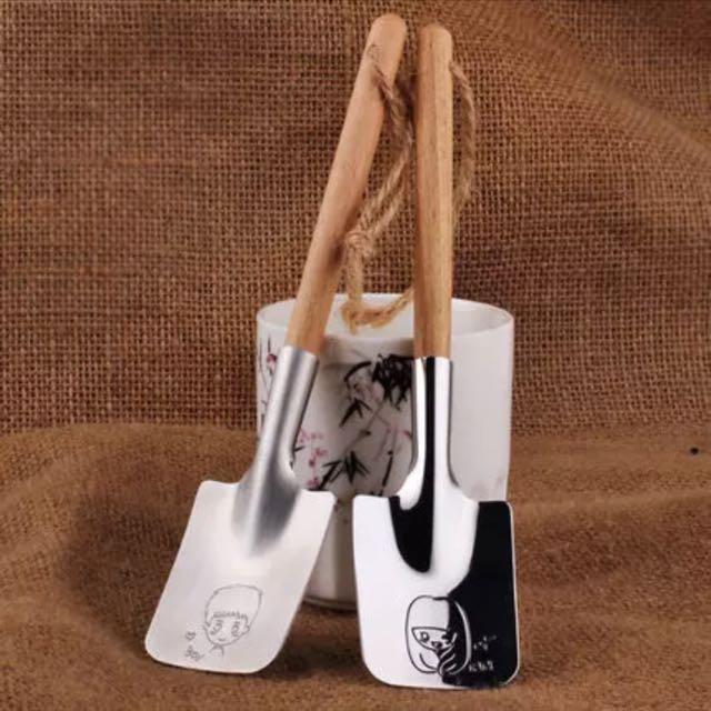 304不鏽鋼創意加厚情侶湯勺
