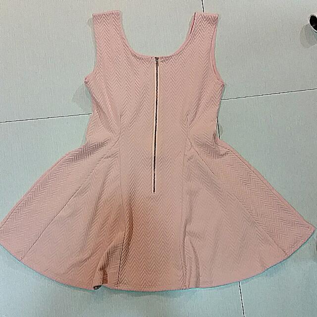 波浪紋小洋裝
