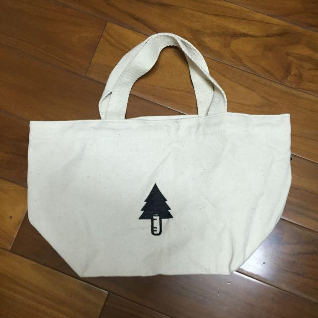 全新 環保 手提袋 購物袋 厚帆布