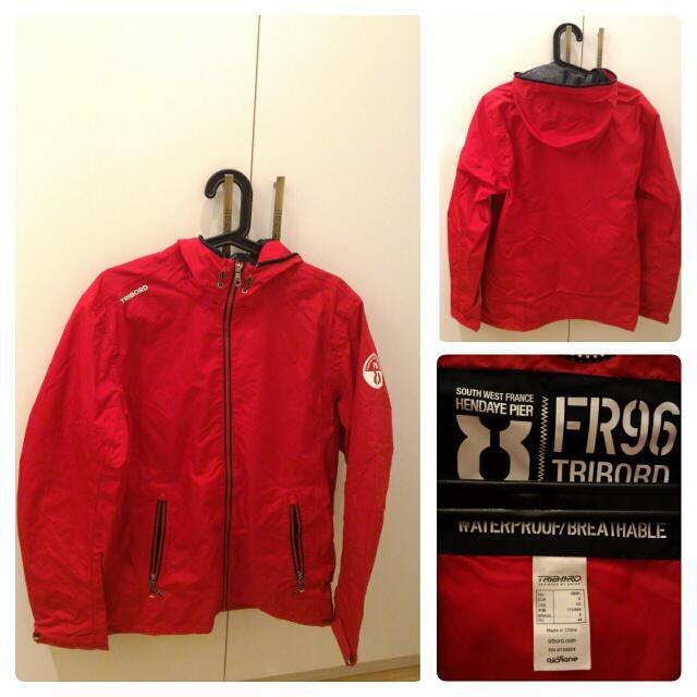 防潑水風衣外套(迪卡儂購入)  [尺寸] 美版XS (身高175內) [新舊] 近全新 [售價] $890 [運費] $60店到店